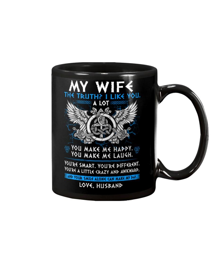 Viking Wife The Truth Mug