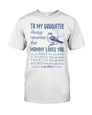 Bird Daughter Mom Mommy Loves You Classic T-Shirt thumbnail