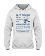 Bird Daughter Mom Mommy Loves You Hooded Sweatshirt thumbnail