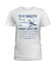 Bird Daughter Mom Mommy Loves You Ladies T-Shirt thumbnail