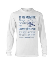 Bird Daughter Mom Mommy Loves You Long Sleeve Tee thumbnail