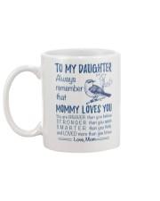 Bird Daughter Mom Mommy Loves You Mug back