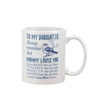 Bird Daughter Mom Mommy Loves You Mug front
