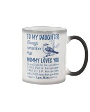 Bird Daughter Mom Mommy Loves You Color Changing Mug thumbnail
