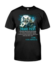 Thanks For Being Wolf  Classic T-Shirt thumbnail
