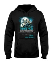 Thanks For Being Wolf  Hooded Sweatshirt thumbnail