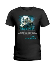 Thanks For Being Wolf  Ladies T-Shirt thumbnail