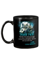Thanks For Being Wolf  Mug back