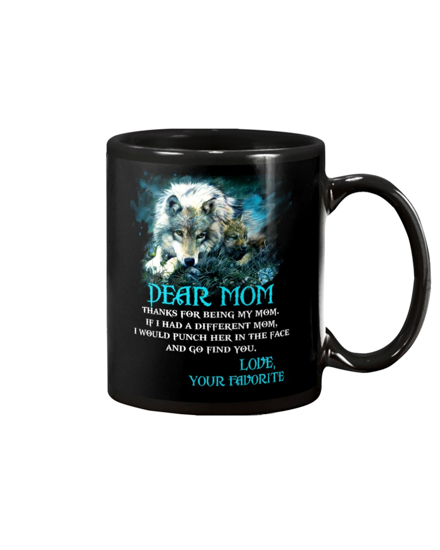 Thanks For Being Wolf  Mug
