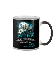 Thanks For Being Wolf  Color Changing Mug thumbnail