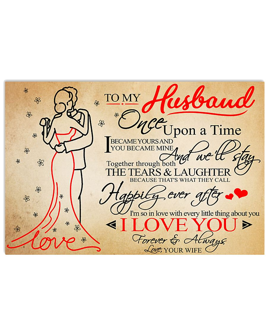 Family Once Upon A Time Love Husband 17x11 Poster