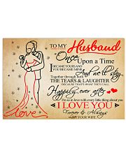 Family Once Upon A Time Love Husband 17x11 Poster front