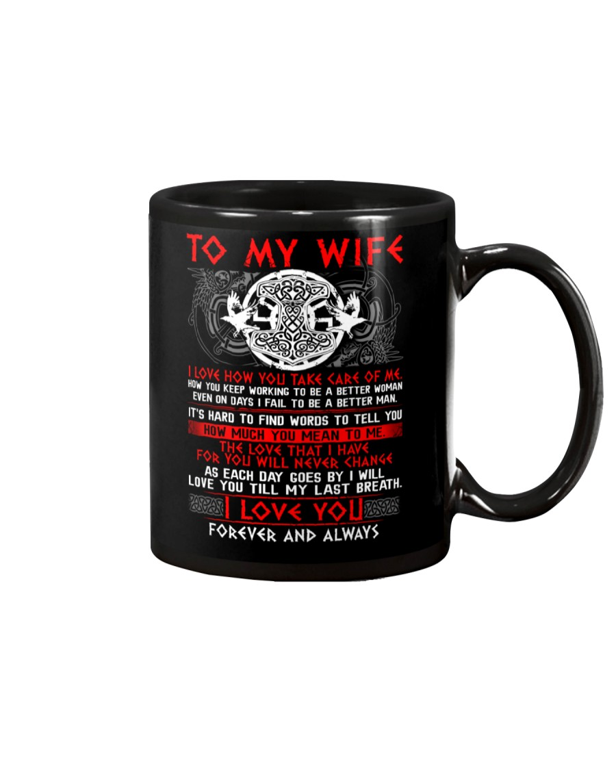 Viking Take Care Of Me Wife Mug