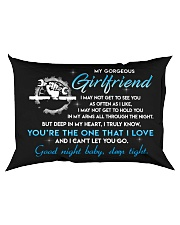 Mechanic Girlfriend Good Night Sleep Tight Pillow Rectangular Pillowcase back