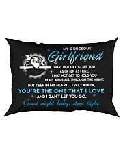 Mechanic Girlfriend Good Night Sleep Tight Pillow Rectangular Pillowcase front