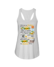 You Are My Sunshine My Only Sunshine Cat Ladies Flowy Tank thumbnail