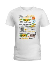 You Are My Sunshine My Only Sunshine Cat Ladies T-Shirt thumbnail