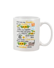You Are My Sunshine My Only Sunshine Cat Mug front