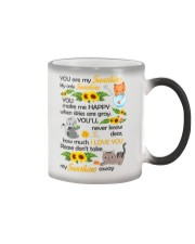 You Are My Sunshine My Only Sunshine Cat Color Changing Mug thumbnail