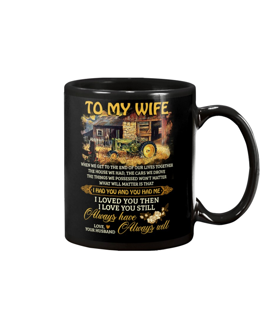When We Get To The End Of Our Lives Together Mug