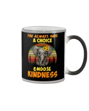 You Always Have A Choice Choose Kindness Elephant Color Changing Mug thumbnail