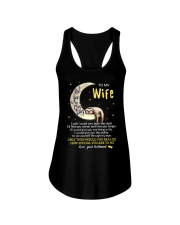 I Love You To The Moon And Back Sloth  Ladies Flowy Tank thumbnail
