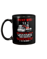 How Special You Are To Me Trucker Mug back