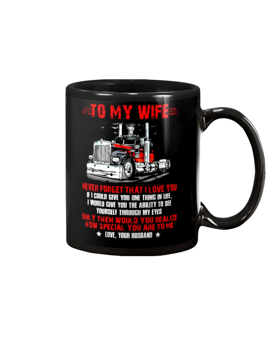 How Special You Are To Me Trucker Mug