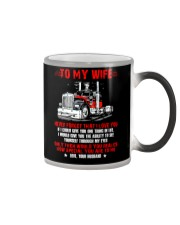 How Special You Are To Me Trucker Color Changing Mug thumbnail