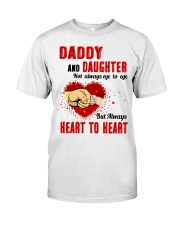 Daddy And Daughter Not Always Eyes To Eyes Family Classic T-Shirt thumbnail