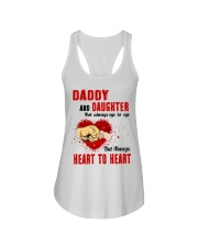 Daddy And Daughter Not Always Eyes To Eyes Family Ladies Flowy Tank thumbnail
