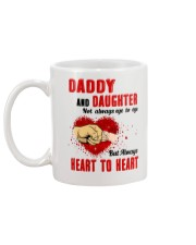 Daddy And Daughter Not Always Eyes To Eyes Family Mug back