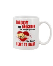 Daddy And Daughter Not Always Eyes To Eyes Family Mug front