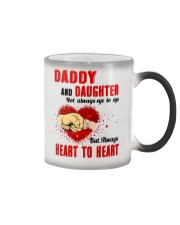 Daddy And Daughter Not Always Eyes To Eyes Family Color Changing Mug thumbnail