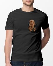 Cute Dog Classic T-Shirt lifestyle-mens-crewneck-front-13