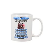 Penguin Husband I Love You More Mug front
