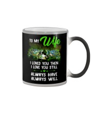I Loved You Turtle  Color Changing Mug thumbnail