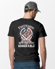 FREEMASON THE FEW THE PROUD THE HONORABLE Classic T-Shirt lifestyle-mens-crewneck-back-6