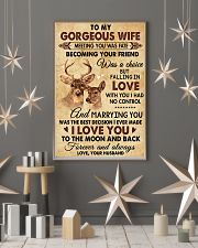 I Love You To The Moon Hunting 11x17 Poster lifestyle-holiday-poster-1