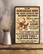 I Love You To The Moon Hunting 11x17 Poster lifestyle-poster-3