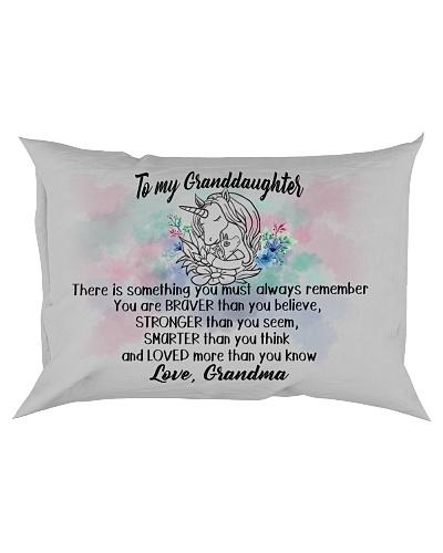 Braver Stronger Smarter Loved Unicorn Granddaughte