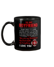 Firefighter Anything Right In My Life Boyfriend Mug back