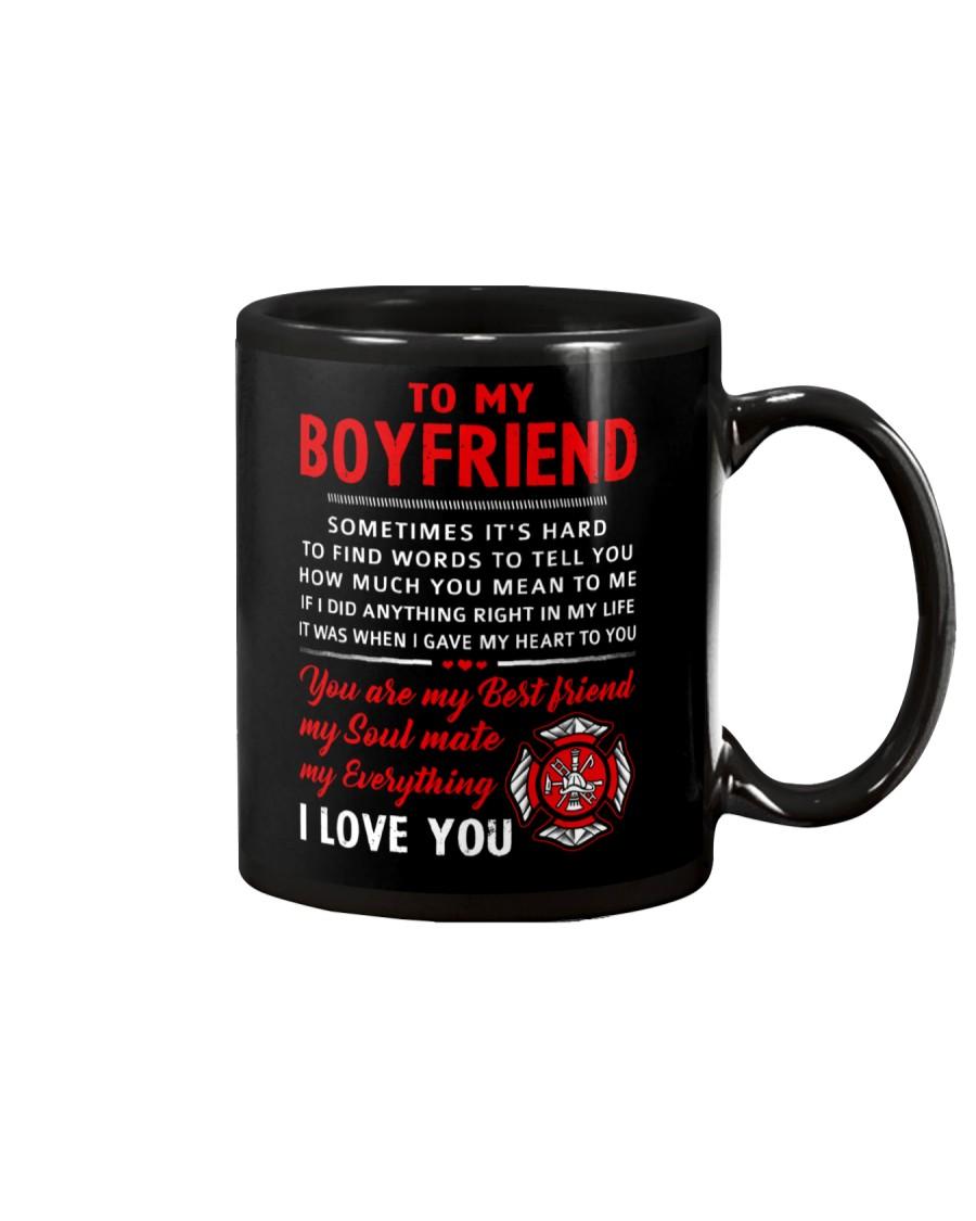 Firefighter Anything Right In My Life Boyfriend Mug