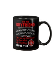 Firefighter Anything Right In My Life Boyfriend Mug front