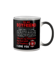 Firefighter Anything Right In My Life Boyfriend Color Changing Mug thumbnail