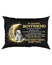 Sheepdog Boyfriend Sleep Tight  Rectangular Pillowcase front