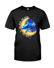 I Love You To The Moon And Back Hippie Classic T-Shirt thumbnail