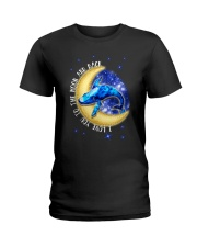 I Love You To The Moon And Back Hippie Ladies T-Shirt thumbnail