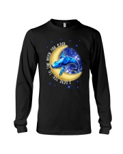 I Love You To The Moon And Back Hippie Long Sleeve Tee thumbnail