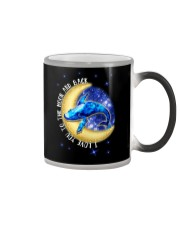 I Love You To The Moon And Back Hippie Color Changing Mug thumbnail